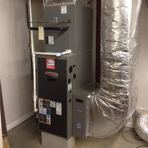 gas furnace installation in Berlin