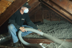 Blown Insulation in Collingswood